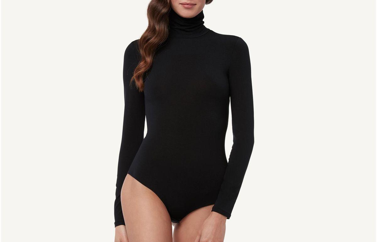 bb53af1ed8 Moda feminina body renda preto feminino tule farm manga - Multiplace