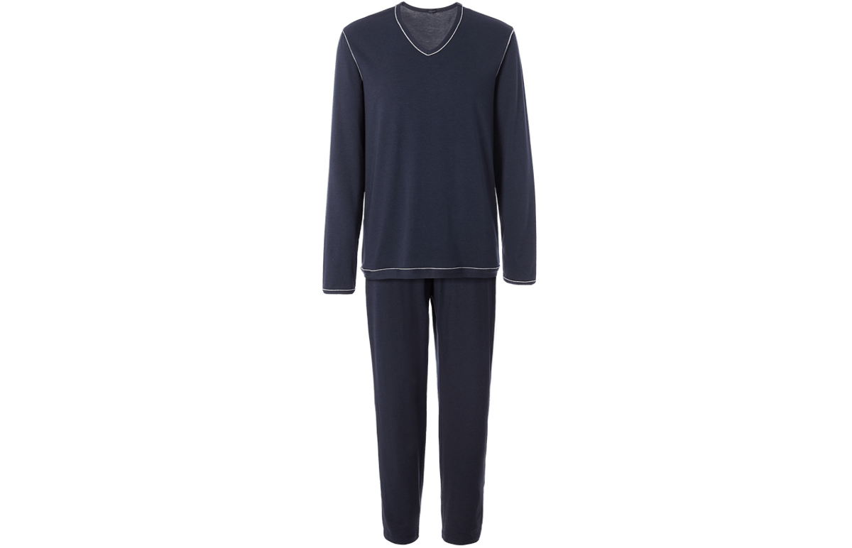 Pijama Em Modal - Azul Eg