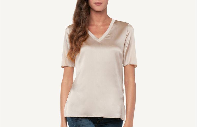 be0da03c88 Camiseta Manga Curta em Algodão Supima® com Decote Redondo - CMD12C ...