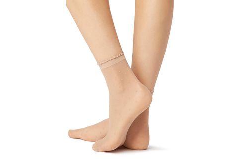c136d029d Encontre Meia sapatilha antibolhas branca com